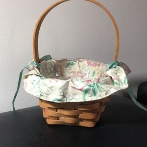 Longaberger 1993 May basket Lily of the Valley